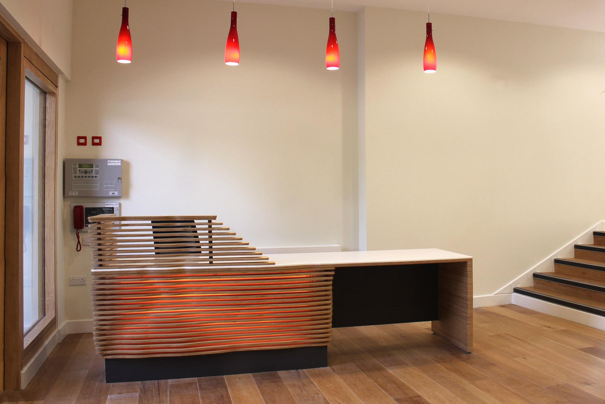 Commercial furniture manufacturering