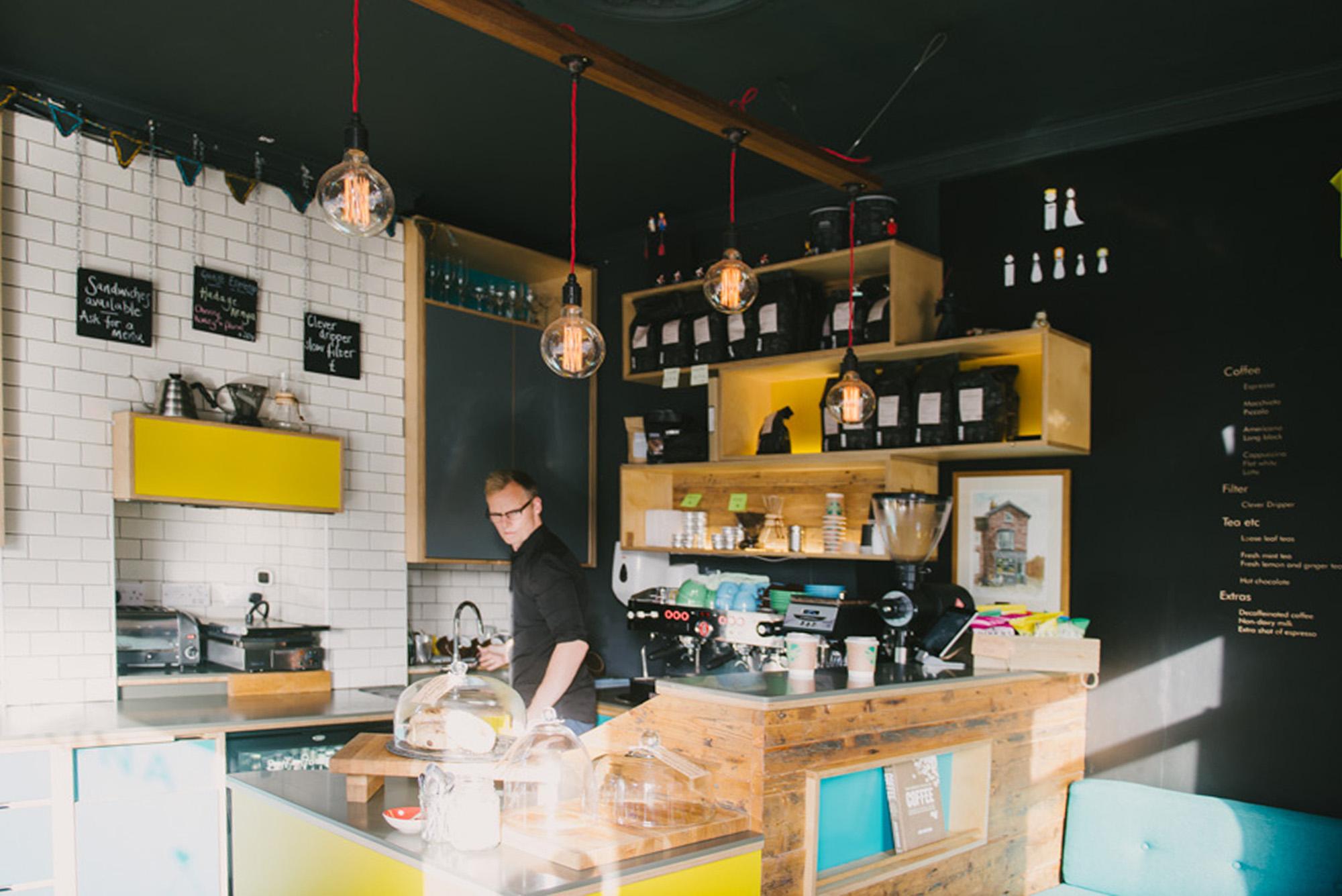 Cafe design services