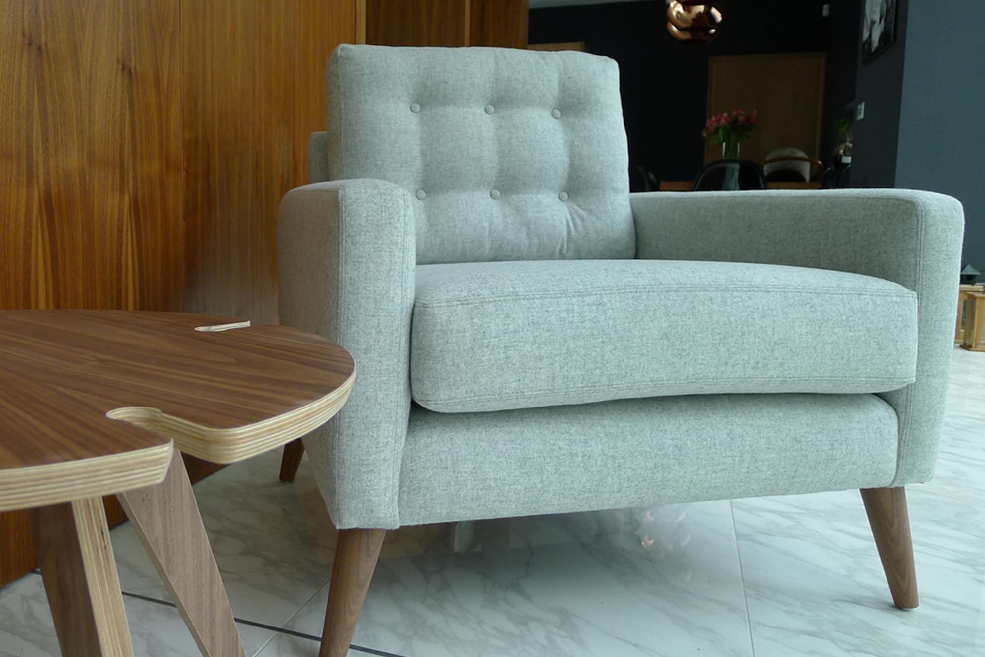 Independent furniture showroom