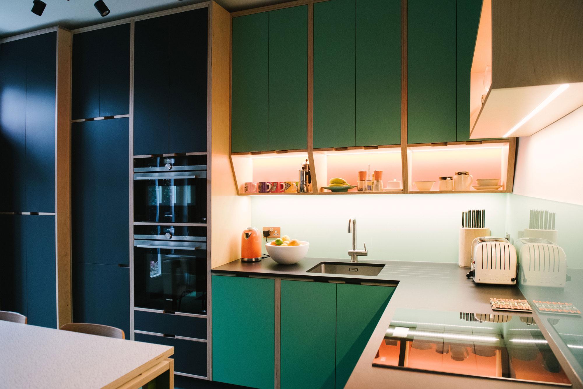70's Style plywood kitchen