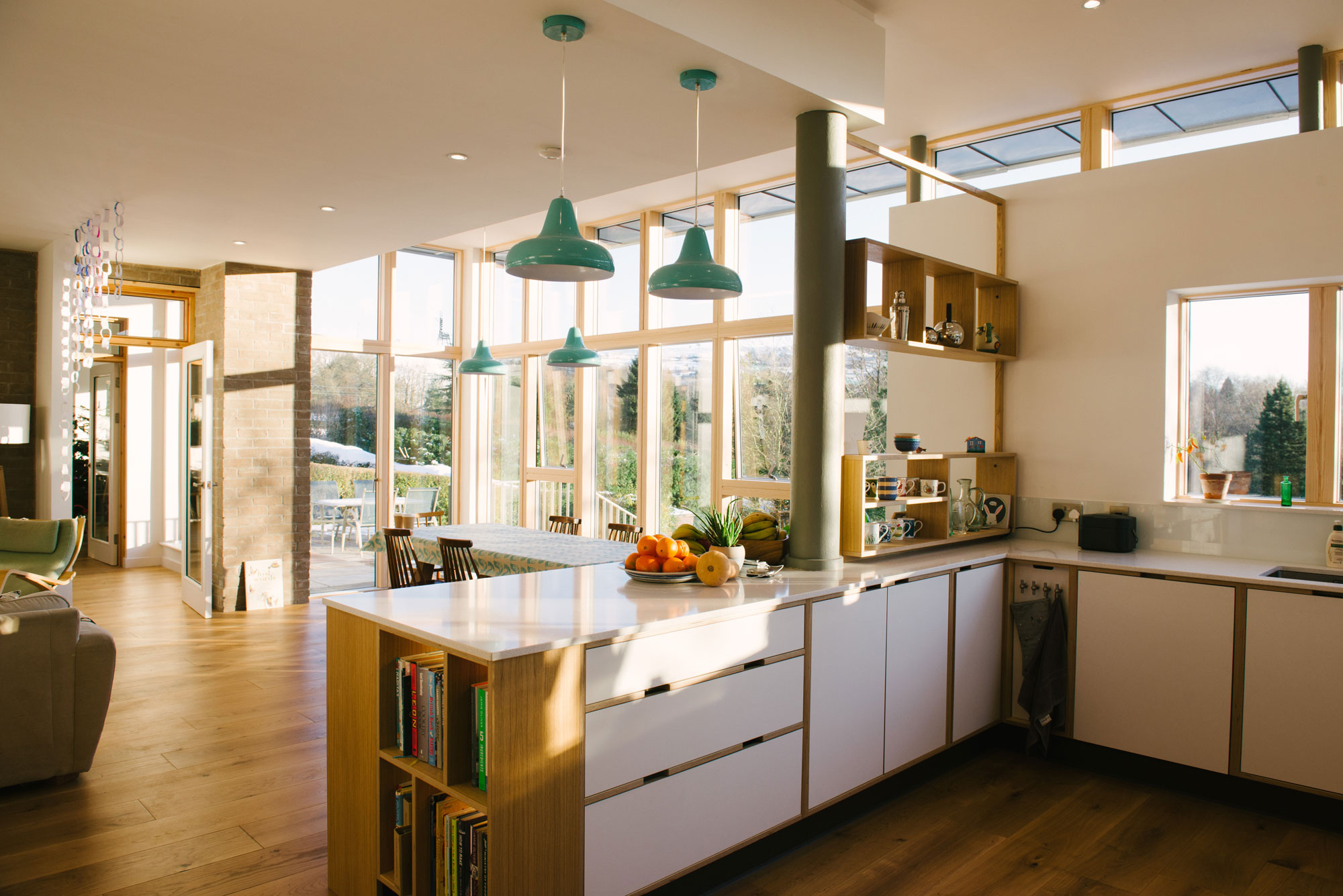 Open Plan Living Dining and Kitchen Space