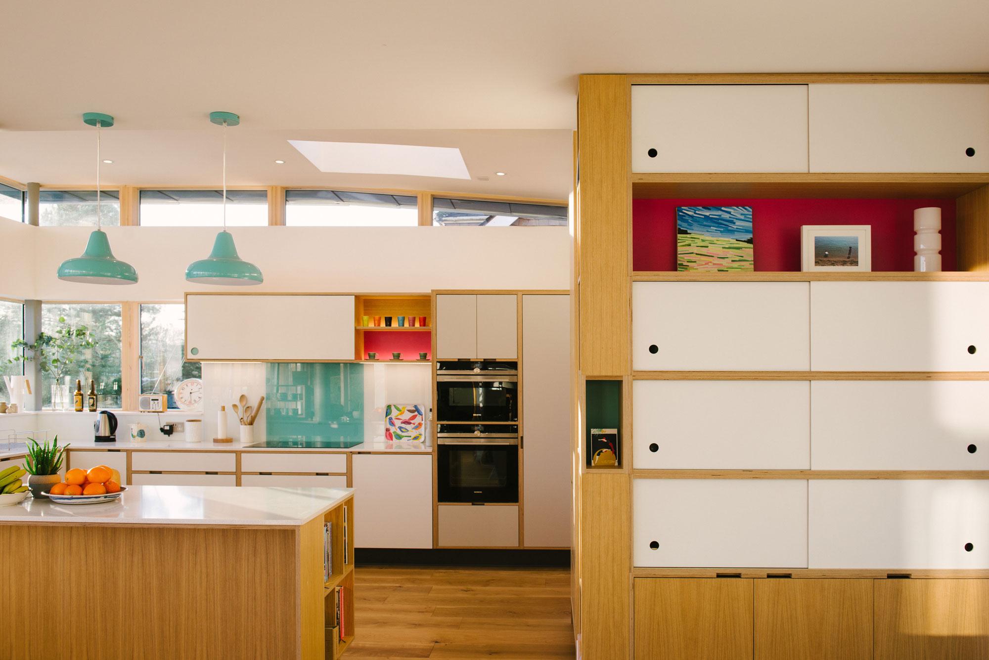 Modern Plywood Kitchen
