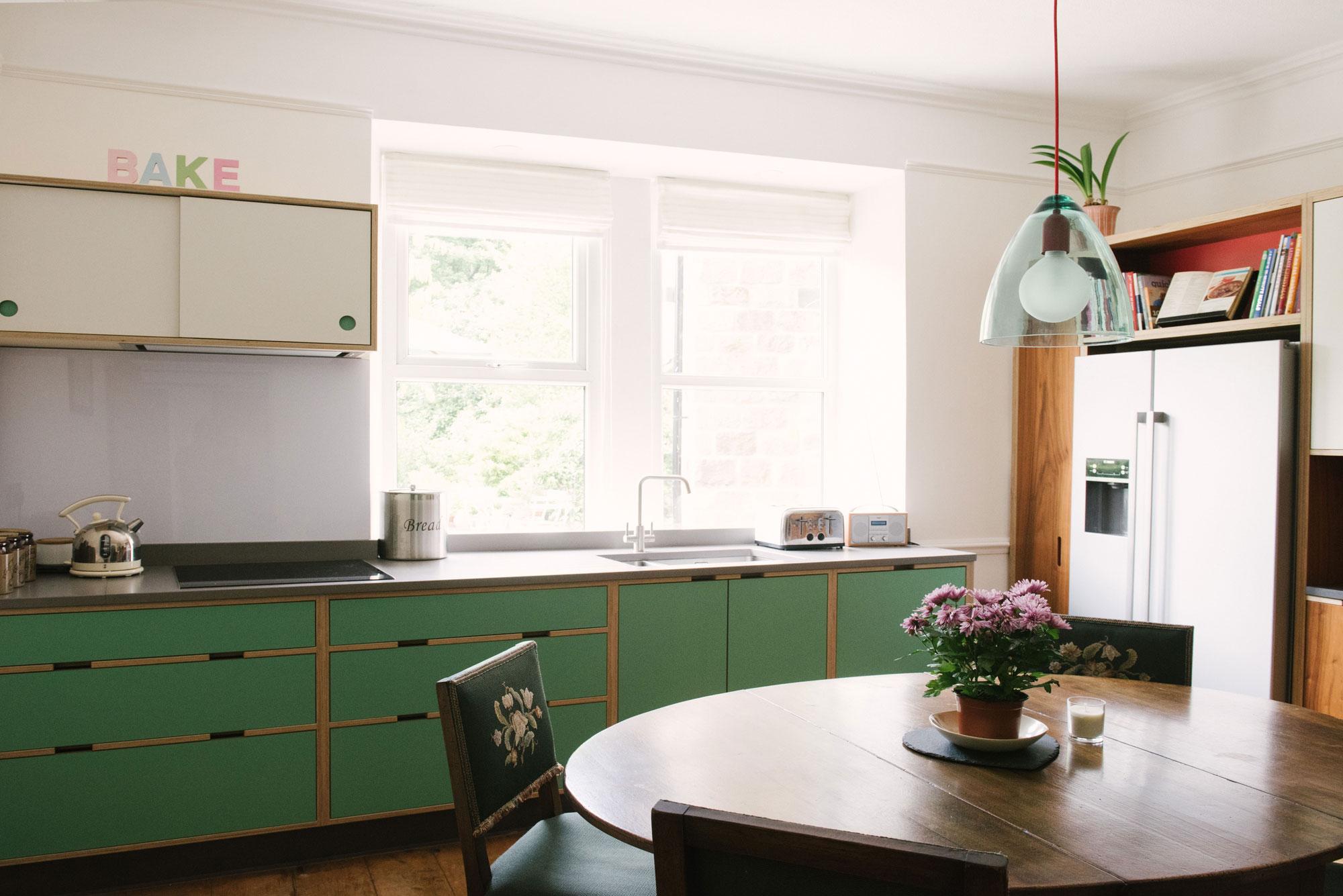 Walnut Veneer Kitchen Doors
