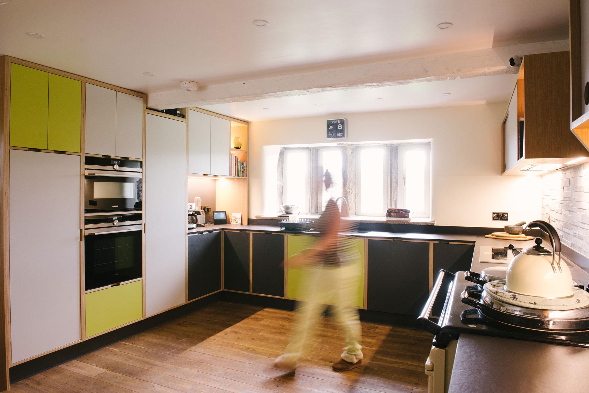 Low Ceiling Kitchen Design
