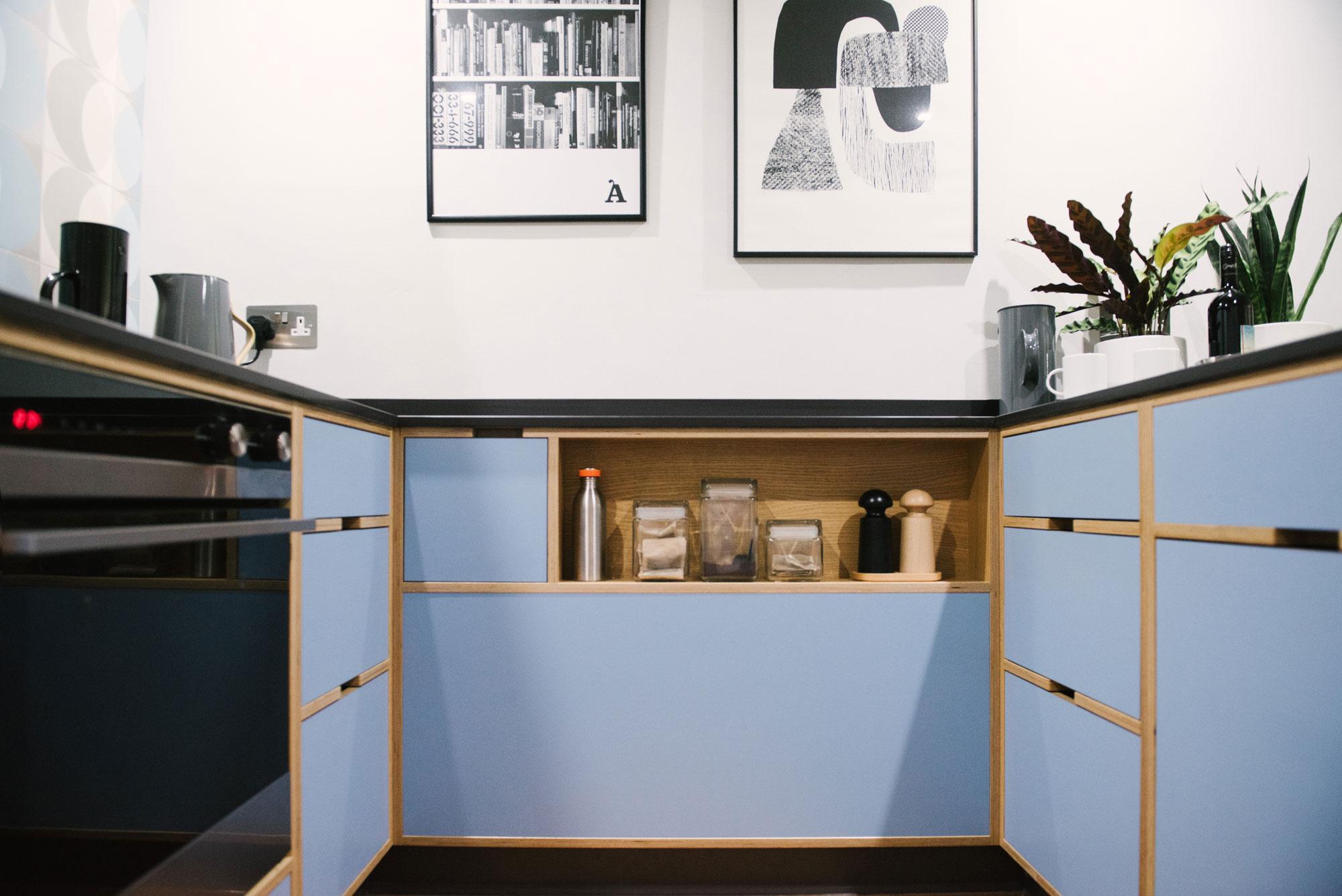 Blue-Plywood-Kitchen