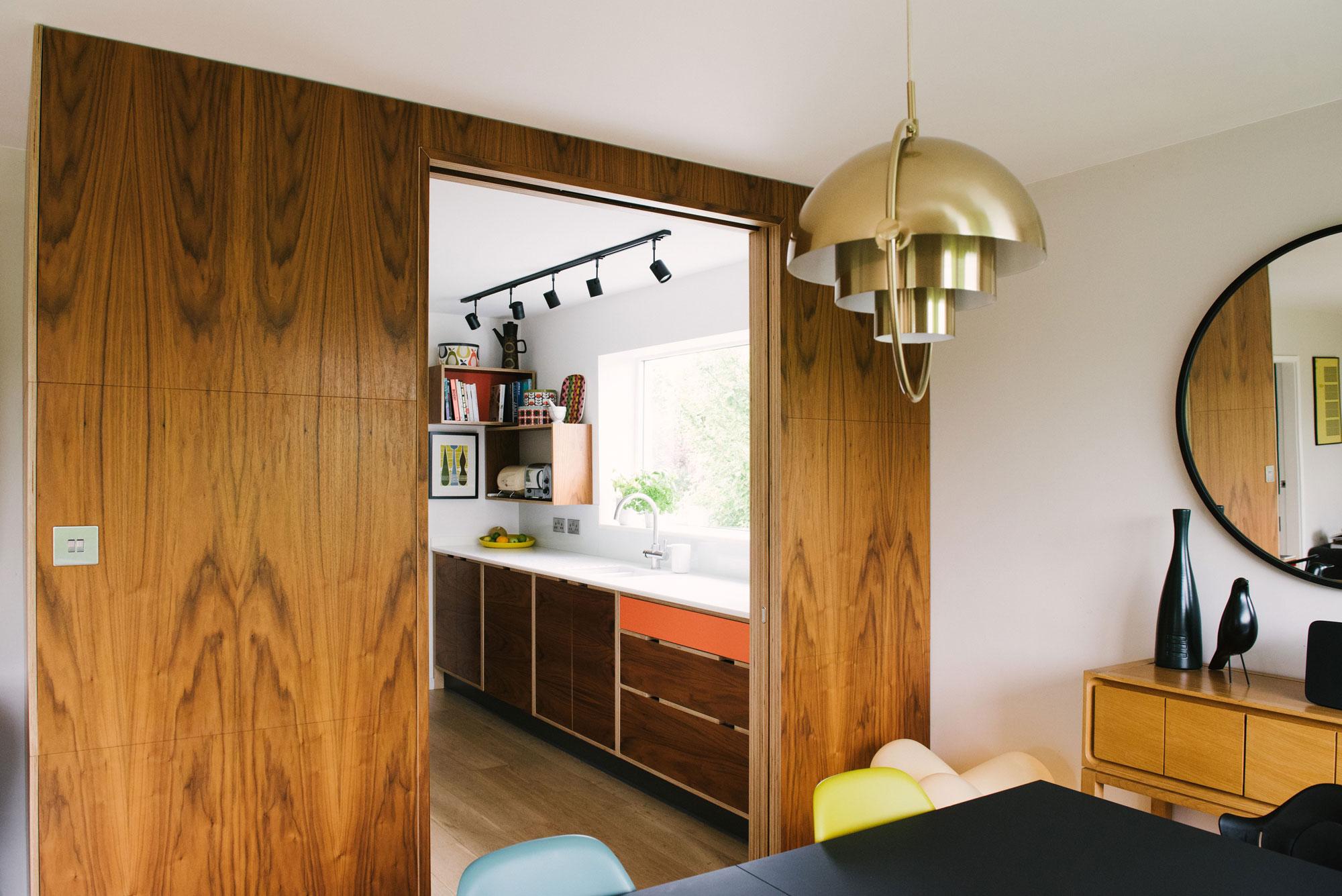 Mid-Century-Style-Kitchen