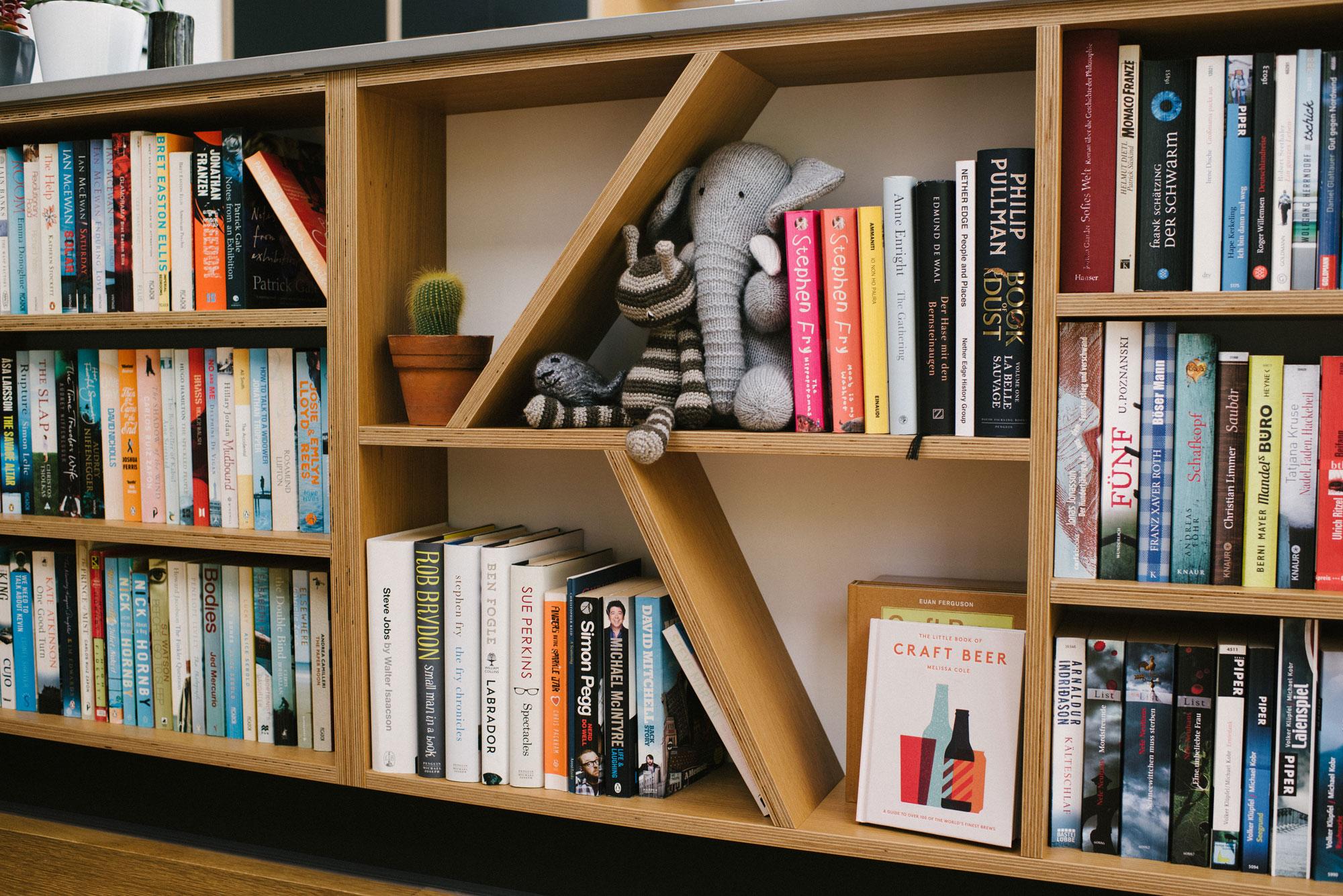 Bespoke Plywood Bookcase
