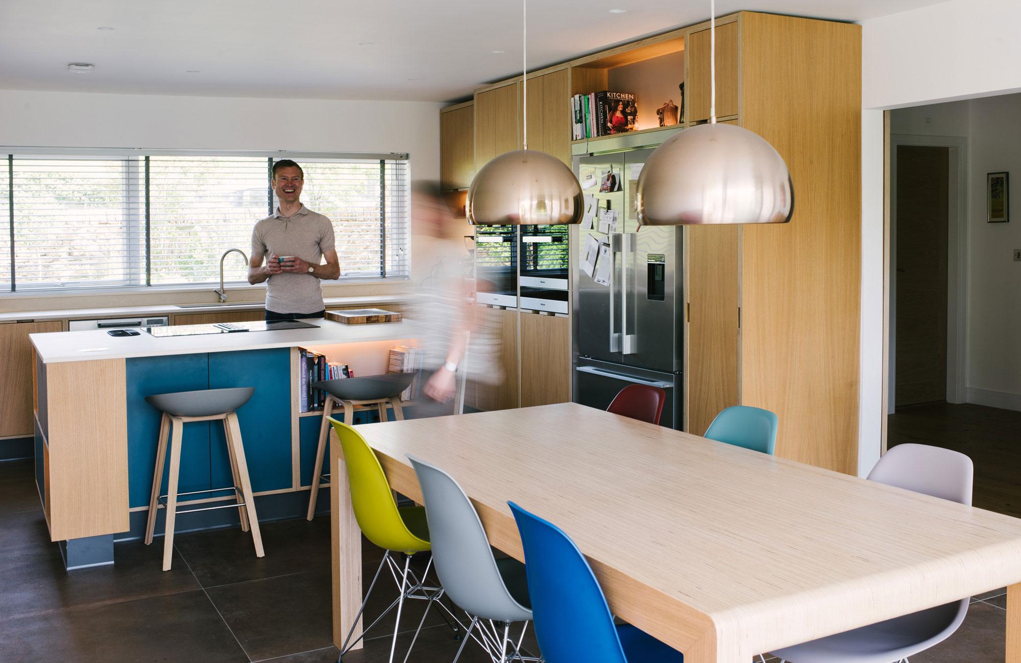 Bespoke Plywood Kitchen UK