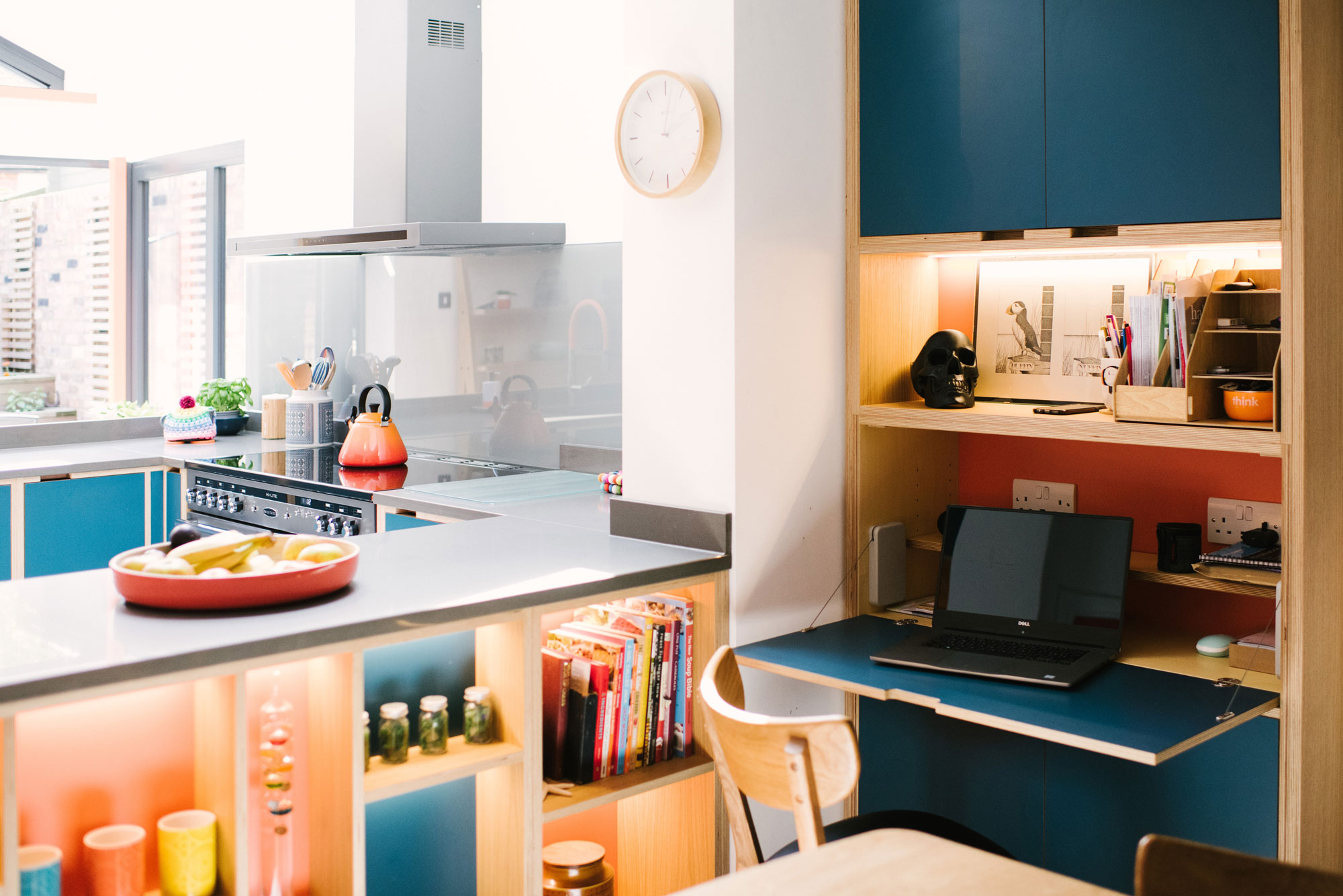 Kitchen with Office