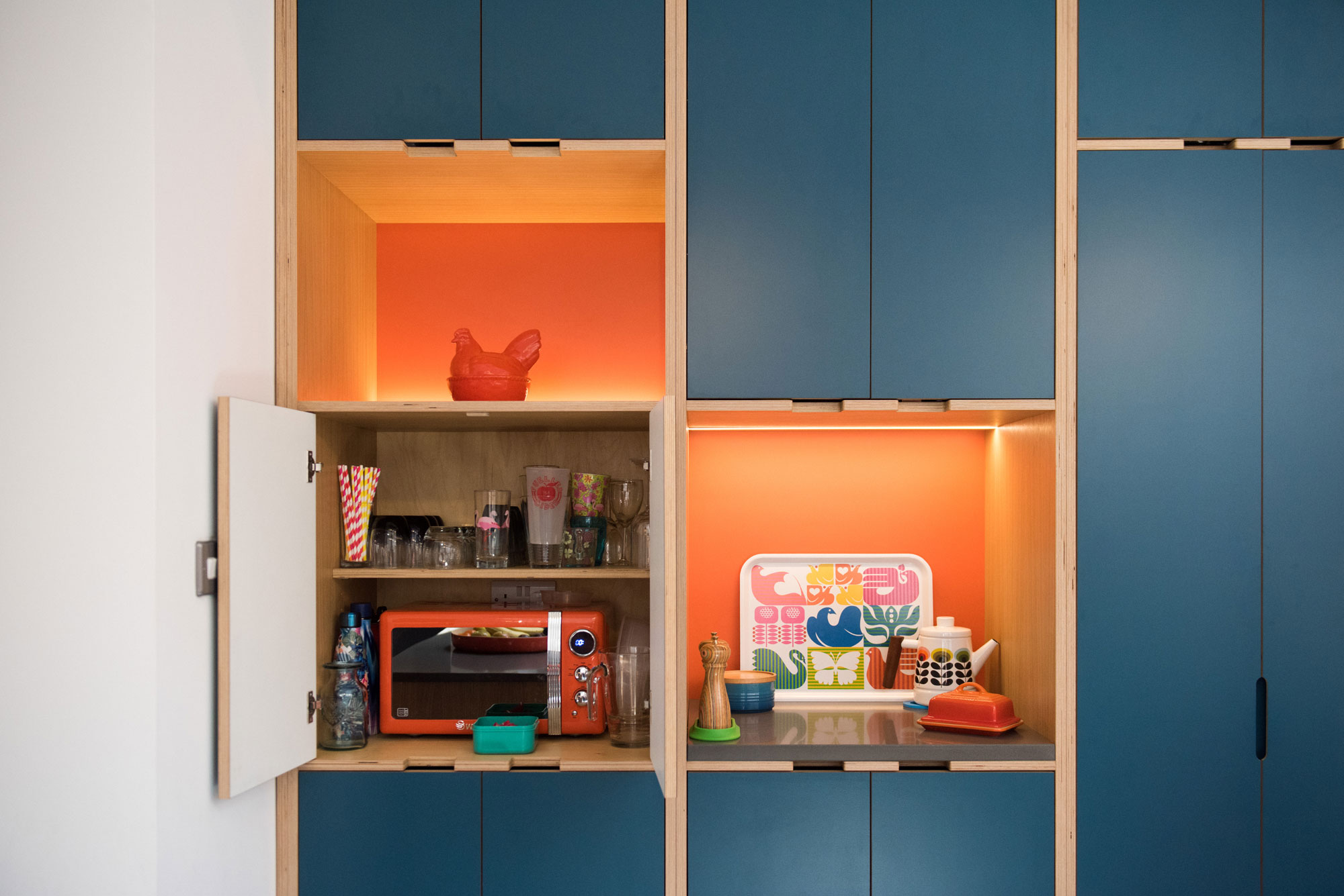 Plywood Kitchen Cabinets UK