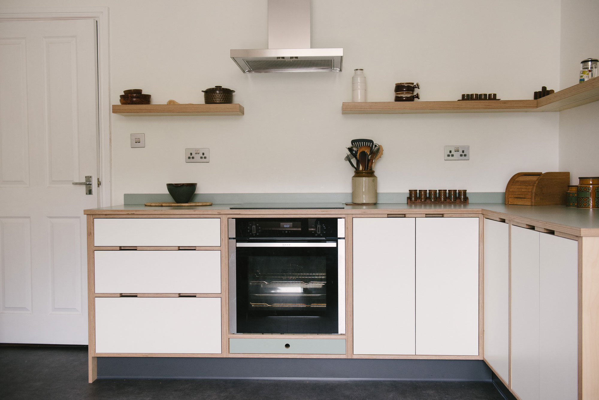 Plywood Kitchen - Small