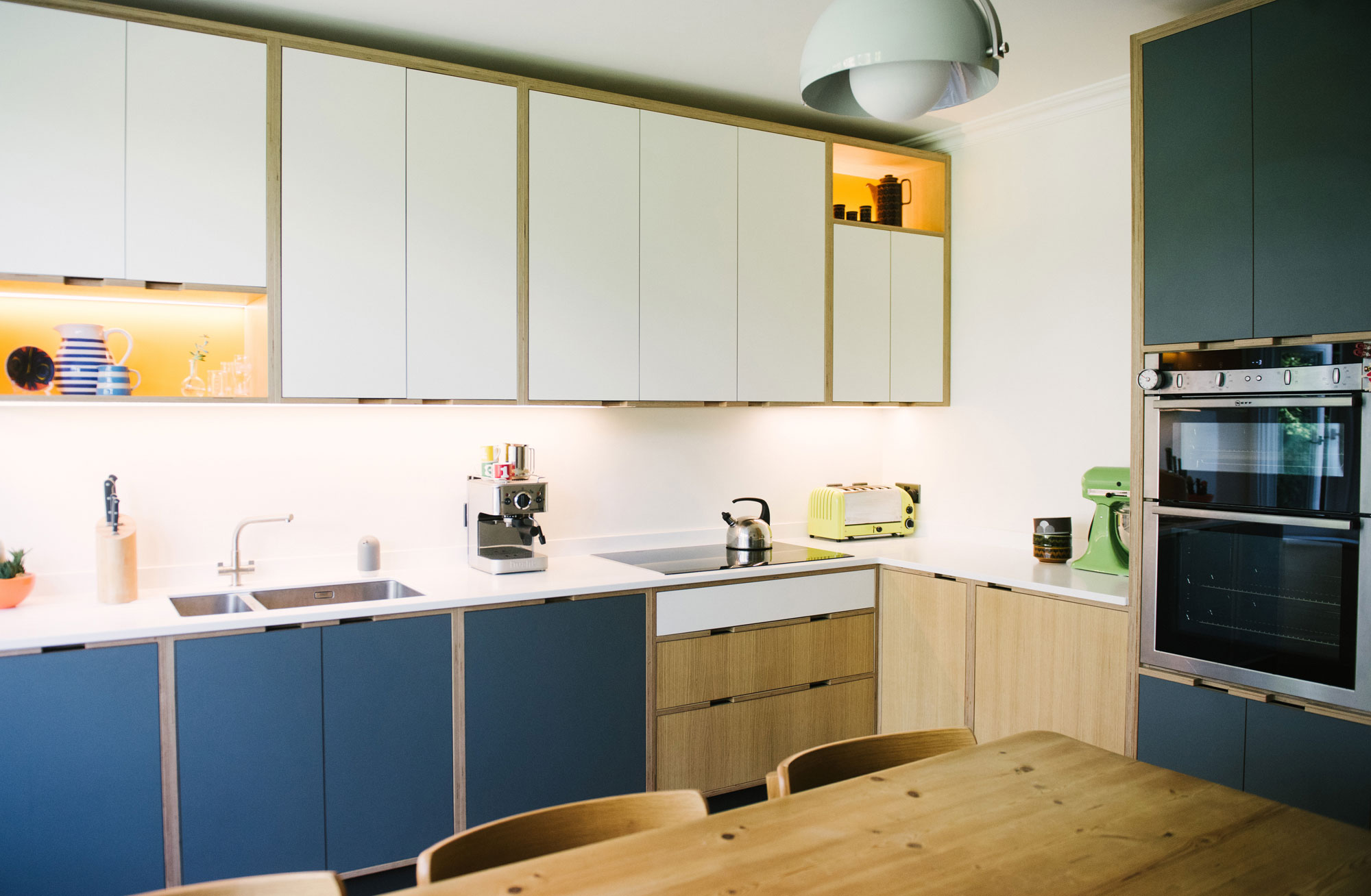 Plywood Kitchens Bespoke Kitchen Solutions From Wood Wire