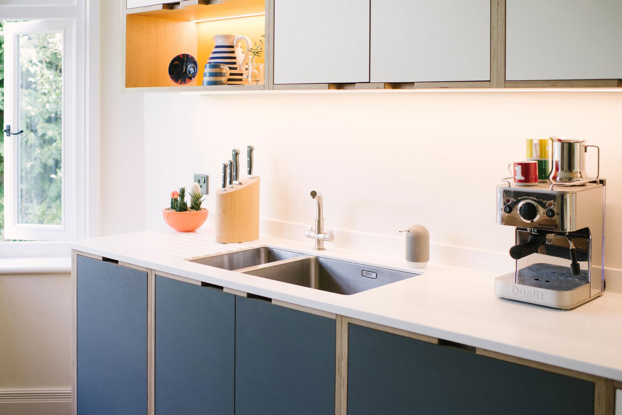 Mid-Century Modern Style kitchen