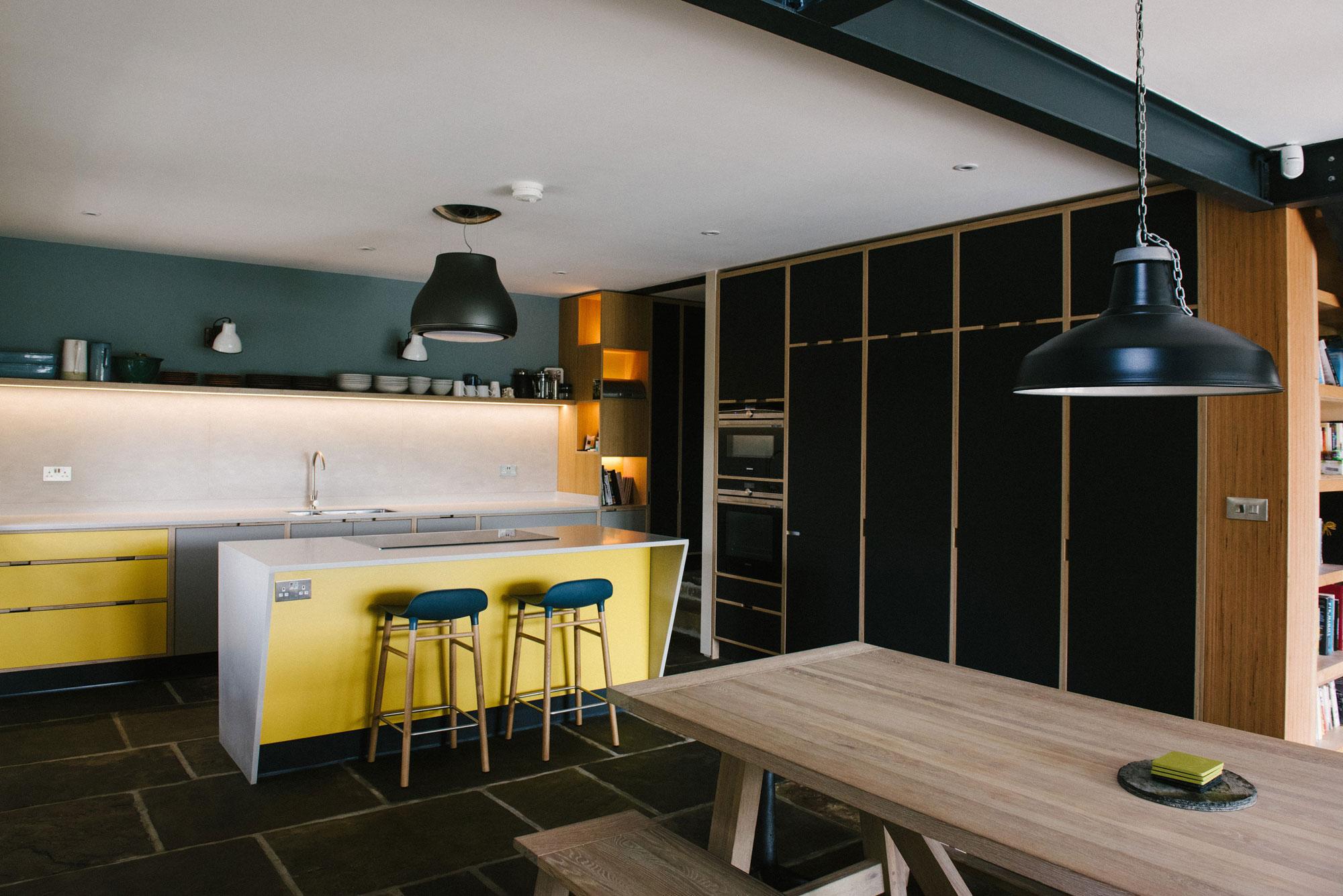 Award Winning Plywood Kitchen