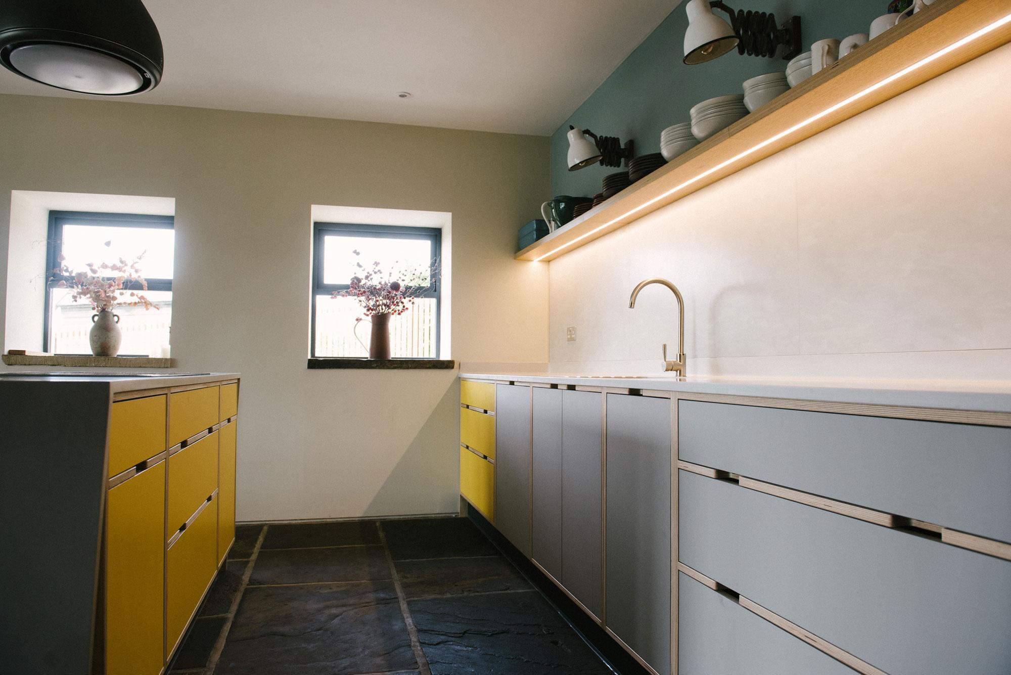 Bespoke Plywood Kitchen