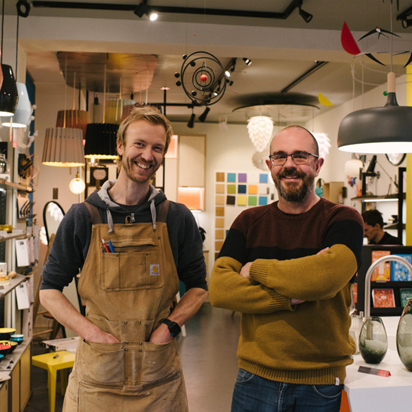 Wood & Wire founders Tim Shillitoe and Jim Leach