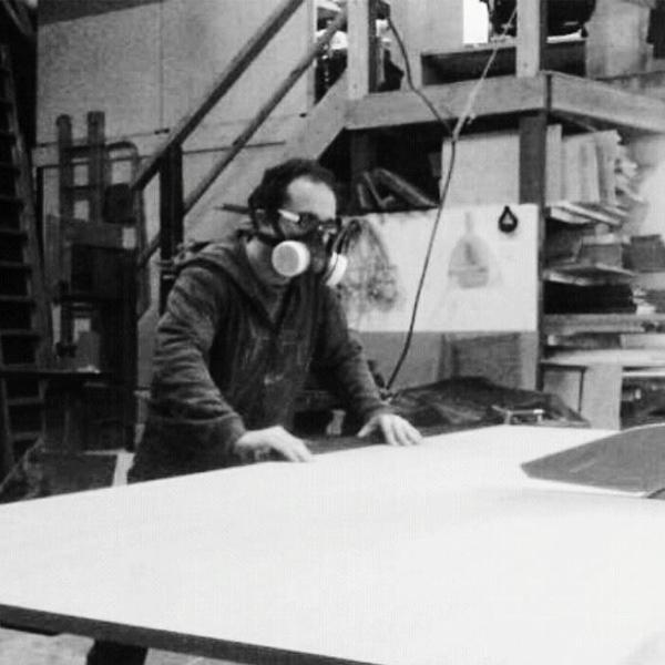 Jim Leach operating machinery