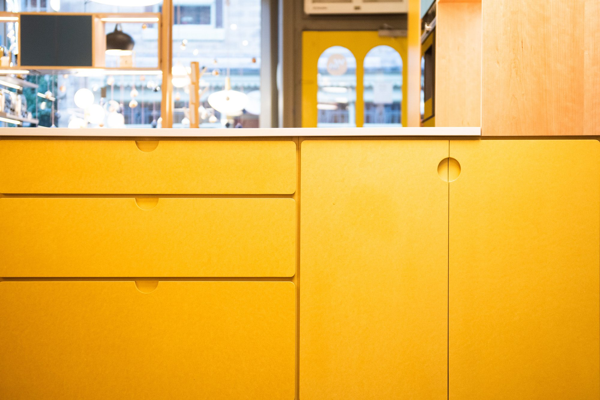 Valchromat Kitchen Yellow