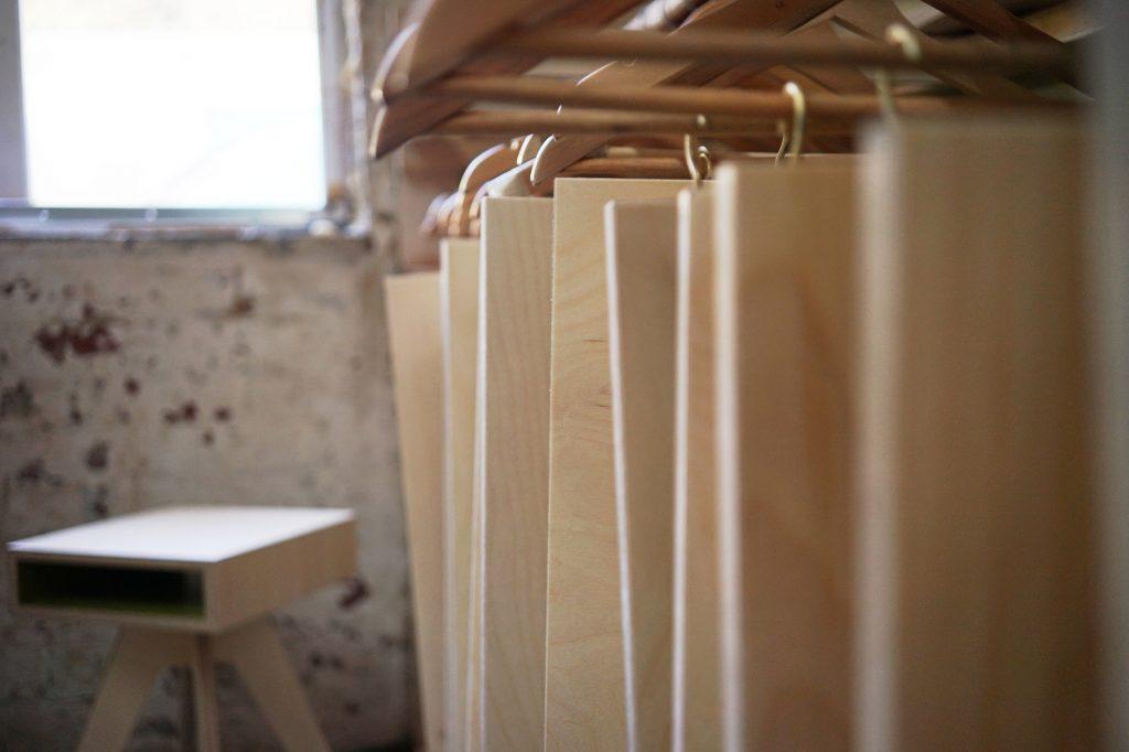 plywood kitchen carcass