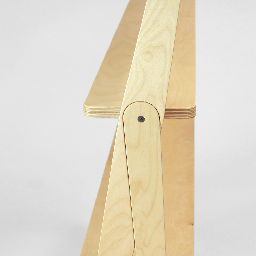 plywood shelving detail