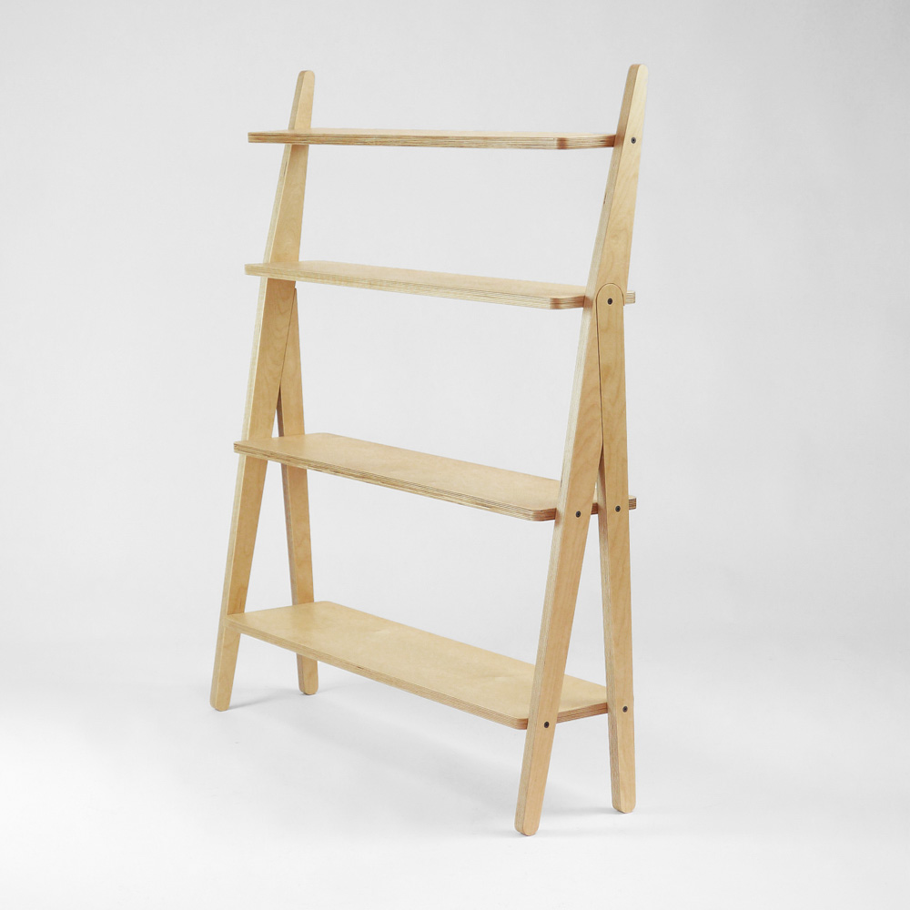 Plywood Shelving axo