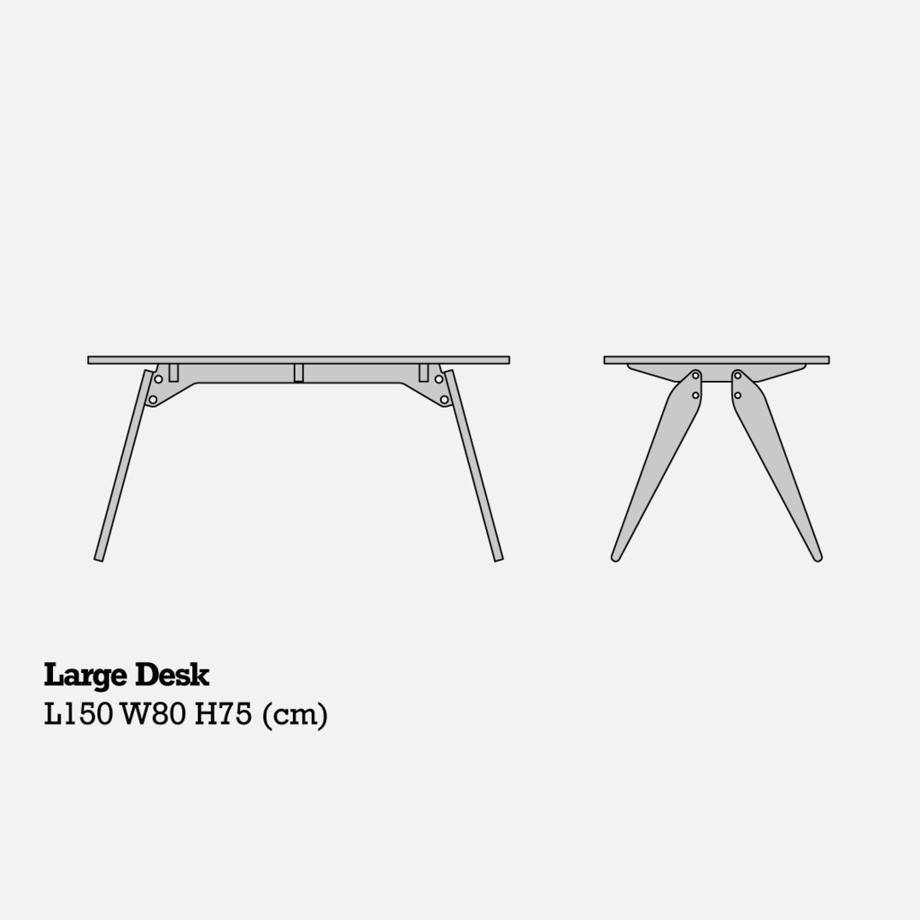 Plywood Desk_Large size