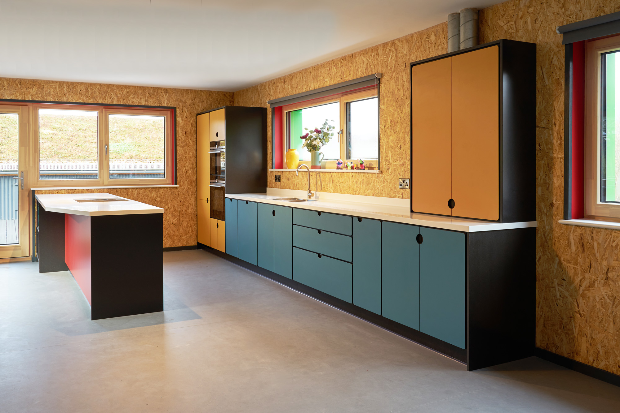 valchromat kitchen blue