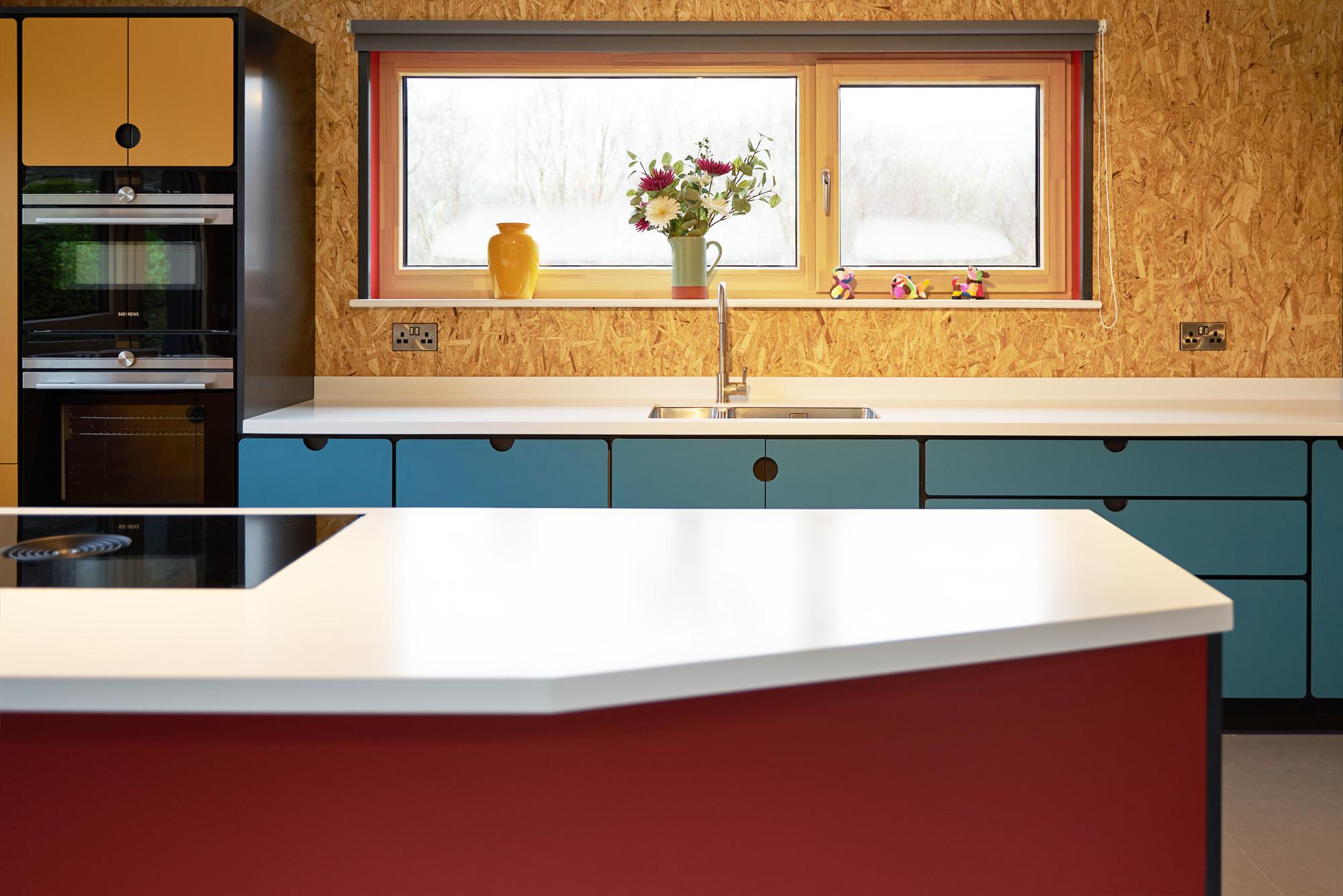 valchromat kitchen red