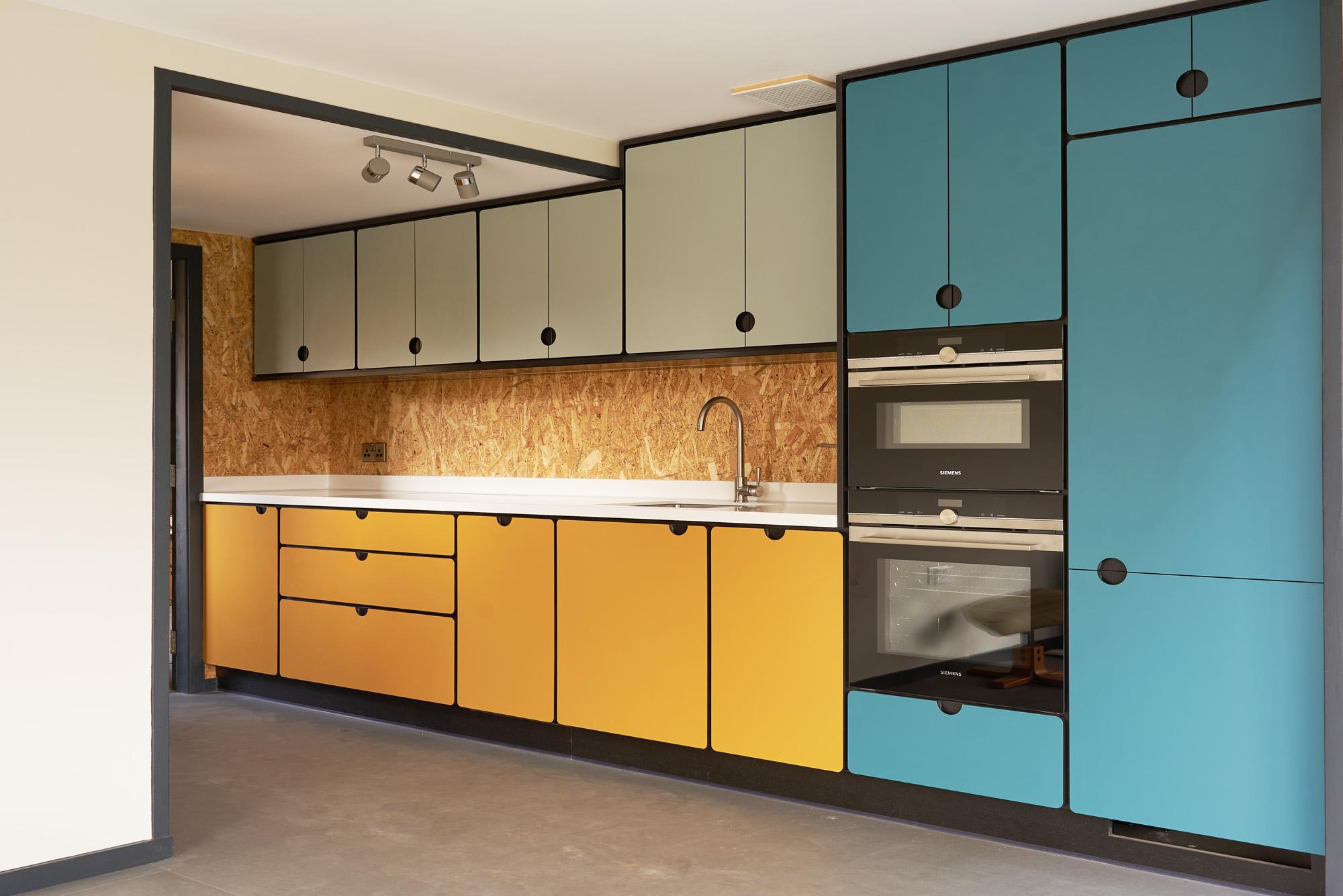 valchromat kitchen yellow