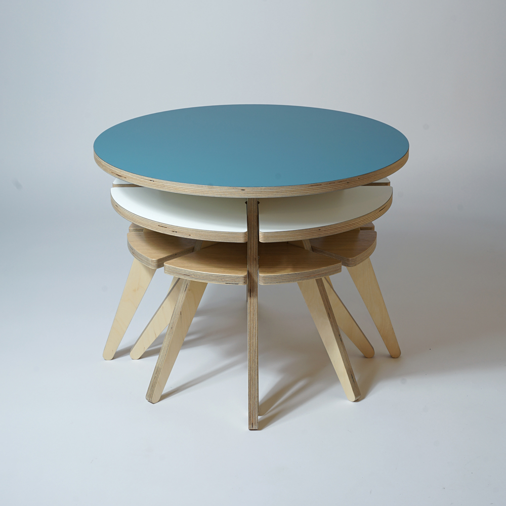 stacking nesting tables